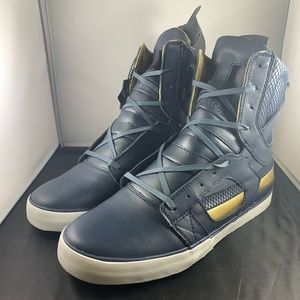 Supra Skytop II Blue and Gold size 10.5